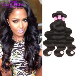 Wholesale Cheap Good Remy Hair - Brazilian Malaysian Body Wave Hair Weaves 100% Human Hair Unprocessed Good Cheap Soft 8A Virgin Remy Human Body Wave Hair Extensions