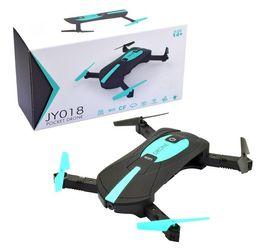 Wholesale Mini Camera 2mp - Portable Foldable Mini air Selfie Pocket Drone Folding Quadcopter Altitude Hold Headless WIFI FPV 2MP Flying Camera drone
