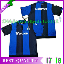 Wholesale Sporting Football Club - TOP Best quality 2017 2018 Belgium Club Brugge KV football jersey home custom name number 17 18 soccer jersey Sports Wear shirts