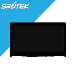 Wholesale Tablet Pc 14 Screen - Wholesale-100% Tested For Lenovo Yoga 500 Touch Screen Glass with LCD Display Panel for Lenovo Flex 3 14 Tablet PC Replacement Parts Black