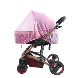 Wholesale Mosquito Bites - Wholesale- baby Stroller special nets full bell type mosquito net increase encryption to protect children from mosquito bites