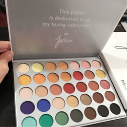 Wholesale Eyes Pigments - New The JaclYn Hill Palette Eye Makeup Set 35 Earth Color Matte Pigment Eyeshadow Palette Cosmetic Shimmer Eye Shadow Powder Make Up Kit