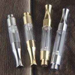 Wholesale Vaporizer Empty - G2 atomizer vape pen vaporizer cartridge thick oil empty 510 oil cartridge Sliver Gold Color with metal drip tip disposable vaporizer