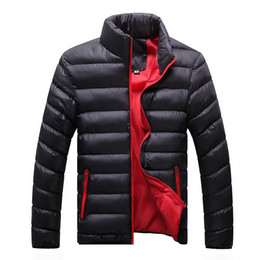 Wholesale Men Parkas - 2017 New Casual Brand Duck Down Jacket Men Autumn Winter Warm Coat Men's Ultralight Duck Down Jacket Male Windproof Parka