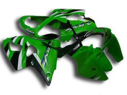 Wholesale Kawasaki Zx - New Injection ABS fairing kits For kawasaki ninja ZX-6R 00-02 ZX 6R 636 ZX6R bodywork ZX636 ZX-636 2000 2001 2002 black white green top