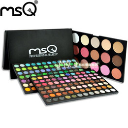 Wholesale Eyeshadow 183 Colors - Wholesale- MSQ 183 Colors Eye shadow Makeup Palettes Makeup Eyeshadow Palette In Different Styles