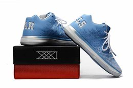Wholesale California Leather - New Arrival Retro 31 XXXI Low George California Michigan 31s Basketball Shoes Men Shoes with box Drop Shipping