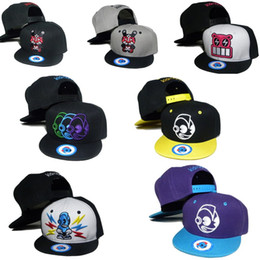 Wholesale Cartoon Basketball Hats Snapback - 2016 Newest Cartoon Style Kids Snapback Hat Basketball Hats Adjustable Fashion HIP HOP Cap Children Kidrobot Coke Boy's Girls' Ball cap