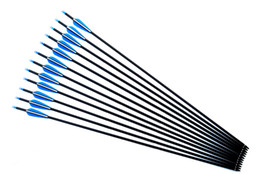 Wholesale Points For Arrows - Free shipping 12PCS LOT 30inch carbon arrow archery hunting for Compound bow & recurve bow with point