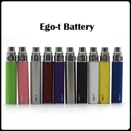 Wholesale Ego Battery Ce6 Ce5 - In Stock!! eGo-T Battery Batteries for E Cigarette for 510 Thread mt3 CE4 CE5 CE6 mini protank 650 900 1100 mAh Various Color