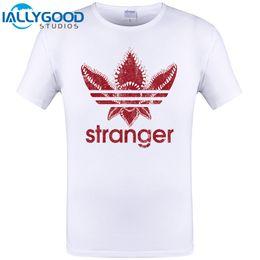 Wholesale Funny Vintage Shirts - Stranger Design Mens T Shirt New Brand Clothing Summer Short Sleeve Tops Hipster Cool Funny O-Neck Vintage Novelty Tees S-6XL