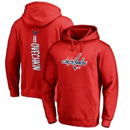 Wholesale White Wool Blend For Women - 2017 NHL WASHINGTON CAPITALS hoodies Alexander Ovechkin TJ Oshie Braden Holtby Name and Number Player sweatshirts for man women kid