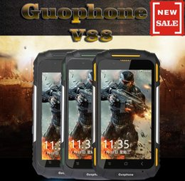 Caméra 8 go à vendre-Guophone V88 Outdoor Sports Waterproof 3G Rugged Smartphone 4 pouces Android 5.1 Quad Core 1 Go RAM 8 Go ROM 3200mAh 8MP GPS