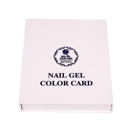 Wholesale Display Color Chart - 120 Colors Professional Card Book Nail Art Display Nail Polish UV Gel Color Display Color Chart Nail Tools Free Shipping ZA2681