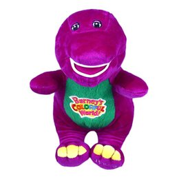 """Wholesale Love Dolls For Sale - Wholesale-2016 Hot Sale Singing Friends Dinosaur Barney 12"""" I LOVE YOU Plush Doll Toy Gift For Children"""