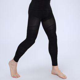 Wholesale Burn Fat Leggings - Mens Leg Trainer Hot Shapers Pants Slimming Massage Man Abdomen Fat Burning Butt Lift Magic Leggings Body Thigh Binder d958