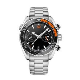 relógio relógios de qualidade Desconto Top Quality VK Quartz Homens Relógios Esporte Chronography Relógio De Aço Inoxidável Strap Luxo Mestre Mens Watch
