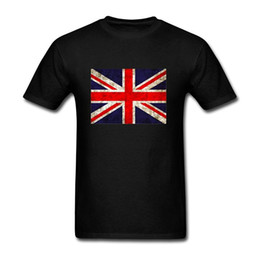 Wholesale Uk Flag T - UK Flag Geek new High Quality 100% Cotton men's T Shirt cheap sell Free shipping
