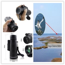 Wholesale Compact Monocular - Telescope 10x40Waterproof Fogproof Monocular High-Definition Dual Focus Compact Telescope wide view Grip Scope Waterproof for camping,hiking