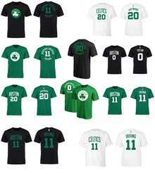 Wholesale T L Name - 2017 basketball T-shirt new CELTIC 11 IRVING 20 HAYWARD 0 TUTAM NAME AND Number Boston T-Shirt