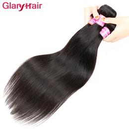 Wholesale Remy Human Braiding Hair - New Arrival Virgin Straight Brazilian Hair Bundles Peruvian Human Hair Weave Bundles Cheap Indian Malaysian Human Braiding Hair Extensions