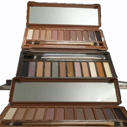 Wholesale Shadow Box Lighting - Eye Shadow Palette Makeup Eyeshadow (1 2 3) Shadow Palette Eyeshadow Long Lasting 12 colors Limited Eyes Makeup 3 Limited Versions Iron Box