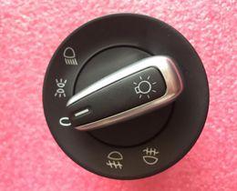 Wholesale Vw Caddy - OEM Chrome Headlight Switch For VW Golf 5 6 GTI Mk5 Mk6 Jetta 5 Passat B6 Touran Tiguan 5ND 941 431 A 5ND 941 431A 5ND941431A