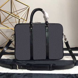 Wholesale Notebook Body - Free shipping!high quality new arrival fashion designer bag cross body shoulder notebook business briefcase computer bag 52005