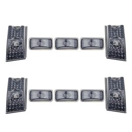 Wholesale Auto Cadillac - Smoke Auto Cab Roof Marker Running Light Lens Cover fits 2003-2009 Hummer H2 Free Shipping