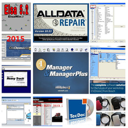 Wholesale Disk 19 - Newest Auto repair program v10.53 ALLDATA+ MITCHELL Estimator+ MITCHELL MANAGER PLUS 19 in 1000GB External Hard Disk High Quality