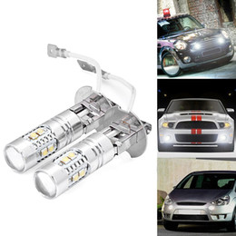 Wholesale Hid Driving Fog Lights - High Power 881 880 h1 h3 50W HID White 10-CREE XBD-R CREE LED Driving or Fog Light Bulbs