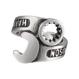 Bijoux pionnier en Ligne-Notre Harley style rétro punk mâle rock ring ring wrenchet trendetter bijoux personnalisés