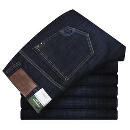 Wholesale Preppy Mens Clothes - Wholesale-Plus Size 28-42 Represent Clothing Designer Pants Black Office Mens Slim Denim Straight Biker Skinny Jeans Men Ripped Jeans