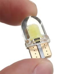 luz de advertência do tejadilho Desconto 100 * 10 pcs T10 COB W5W 8 LED SMD Canbus Silica Luzes de Painel Brilhante Lâmpada 194 168 DHL Frete Grátis CLT_04H