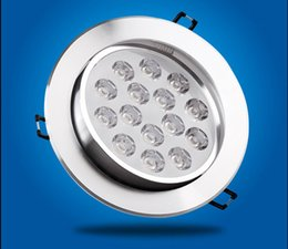Wholesale 1w Led Heatsink - Wholesale- 2016 Ceiling Lamp Free Shipping 6pcs lot,15w 18w Led Downlights, Energy-saving With Excellent Heatsink High Brightness Epistar