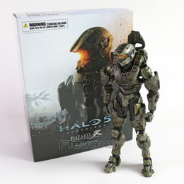 Wholesale Halo Master - Play Arts KAI HALO 5 Guardians No.1 Master Chief PVC Action Figure Collectible Model Toy 26cm