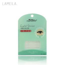 Wholesale Eye Tape Makeup - Wholesale- LAMEILA 144 Pairs Transparent Double Eyelid Sticker Tape Natural Flesh Beautiful Stickers Eyes Eyelid Tools Makeup Wholesale