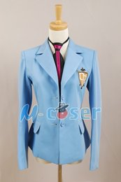 Wholesale Host Club Cosplay - costumes gothic Ouran High School Host Club Jacket School Uniform Coat Party Halloween Anime Cosplay Costume