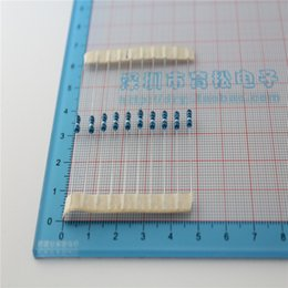 Wholesale precision resistance - Wholesale- 100PCS LOT 1 4W metal film resistor 200K 1% precision rings 0.25W resistance line resistance 100