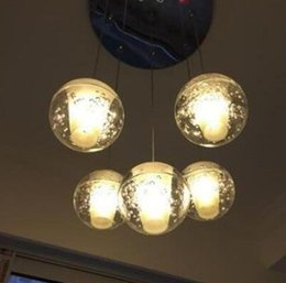 Wholesale Led Light Shower Heads - Free delivery, American meteor shower, creative personality design, chandelier, modern restaurant, hail, chandelier, LED, single head, creat