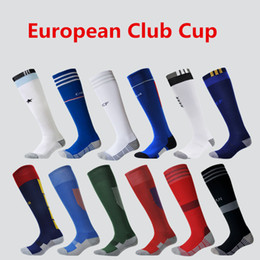 Wholesale Children Knee High Stockings - Flybomb Soccer Socks for Men and Kids Clubs and Countries Thick Antiskid Children Socks Soccer Knee High Football Long Stocking