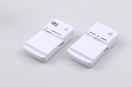 Wholesale Blackberry Promotions - US Plug 3G Business Universal Battery Charger With USB Port Output For Samsung HTC Mobile Phone Promotion