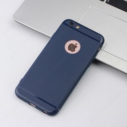 Wholesale I Phone Back Covers - Water- Proof Cell Phone Case For Apple I phone 6 6s full edge protective Dust -proof Mobile cellphone Black Deep Blue back shell covers