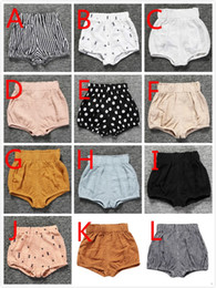 Wholesale Training Pants Toddler Girl - 12 Styles Children Kids PP Shorts Briefs For Baby Toddlers Summer Cotton Training Pants Underwear Little Boys Girls Short PP PantsFor 0-6T