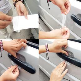 Wholesale Sheets Protectors - 4 Sheets Adhensive Car Door Handle Scratches Film Guard Shakes Protector