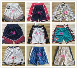 Wholesale Usa Team - Basketball Shorts Men's USA Teams Shorts New Breathable Sweatpants 2015 all Star Sportswear North Carolina Tar Heels Basketball Shorts