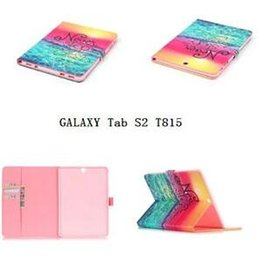 Wholesale Nice Flip - Fashion Skeleton Black Finger have a nice day PU Leather Stand Wallet Flip Card Slots Covers case for Samsung Galaxy Tab T280 T230 T550 T580