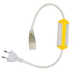 spina del pcb Sconti Doppio colore 5730 SMD Led striscia tappo a tenuta stagna (Larghezza PCB: 12mm), ha condotto la striscia di 220V LED Accessori Alimentatori Plug