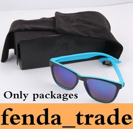Wholesale ha shipping - Brand cases ONLY packages HOT SALE MOQ=10 sets,Black bags,black paper box,black cloth ,suit for Ha Sunglasses Fast Ship AAA+ quality