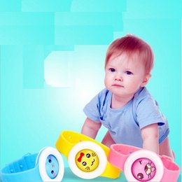 Wholesale Fragrance Baby - 2017 New Arrival Baby Children Cartoon bikit monster Waterproof Fragrance bracelets non-toxic insect Mosquito repellent bracelet